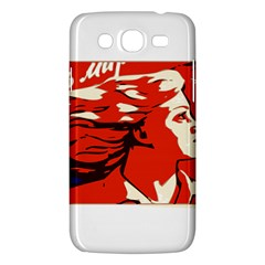 Communist Propaganda He And She  Samsung Galaxy Mega 5.8 I9152 Hardshell Case
