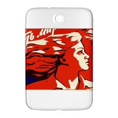Communist Propaganda He And She  Samsung Galaxy Note 8.0 N5100 Hardshell Case