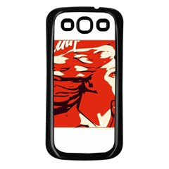 Communist Propaganda He And She  Samsung Galaxy S3 Back Case (black)