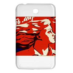 Communist Propaganda He And She  Samsung Galaxy Tab 3 (7 ) P3200 Hardshell Case