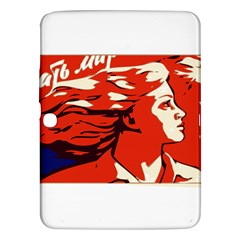 Communist Propaganda He And She  Samsung Galaxy Tab 3 (10 1 ) P5200 Hardshell Case