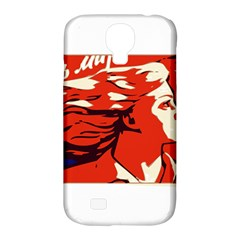 Communist Propaganda He And She  Samsung Galaxy S4 Classic Hardshell Case (PC+Silicone)