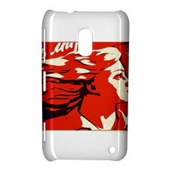 Communist Propaganda He And She  Nokia Lumia 620 Hardshell Case