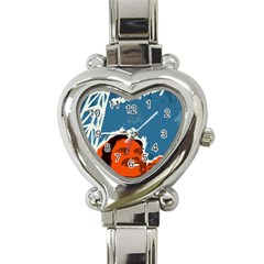 Building Together Heart Italian Charm Watch