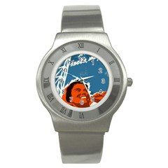 Building Together Stainless Steel Watch (Unisex)