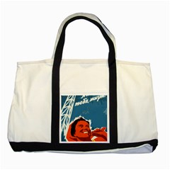 Building Together Two Toned Tote Bag