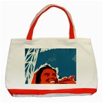 Building Together Classic Tote Bag (Red) Front