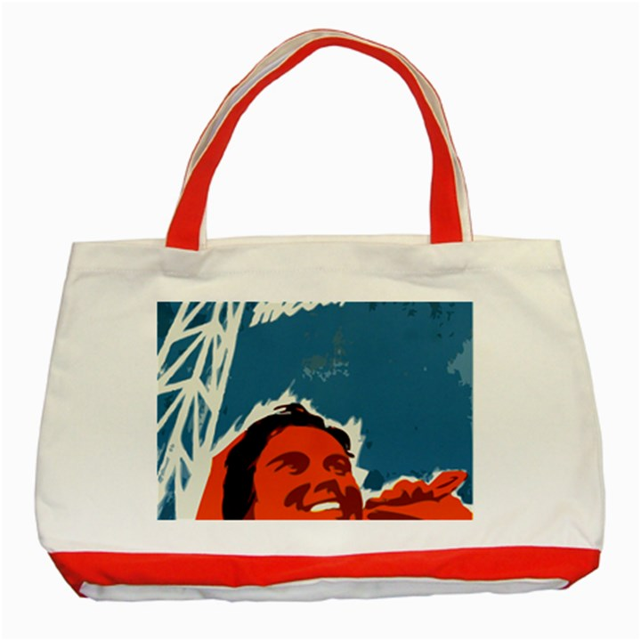 Building Together Classic Tote Bag (Red)