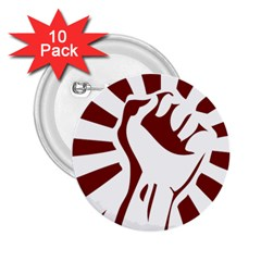 Fist Power 2.25  Button (10 pack)