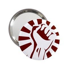 Fist Power Handbag Mirror (2 25 )