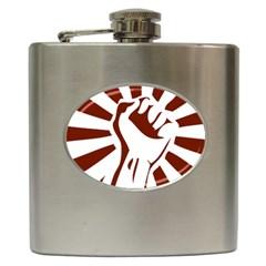 Fist Power Hip Flask
