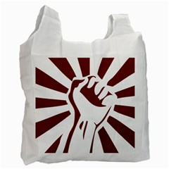 Fist Power Recycle Bag (One Side)