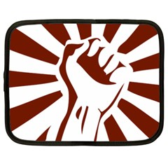 Fist Power Netbook Case (xxl)