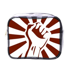 Fist Power Mini Travel Toiletry Bag (One Side)