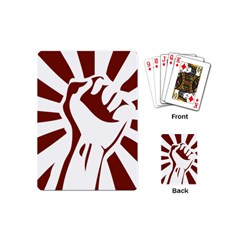 Fist Power Playing Cards (Mini)