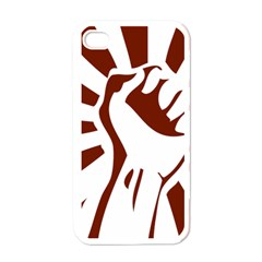 Fist Power Apple iPhone 4 Case (White)