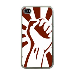 Fist Power Apple iPhone 4 Case (Clear)