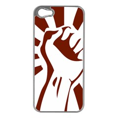 Fist Power Apple Iphone 5 Case (silver)