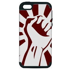 Fist Power Apple iPhone 5 Hardshell Case (PC+Silicone)