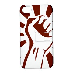 Fist Power Apple iPhone 4/4S Hardshell Case with Stand