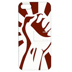 Fist Power Apple iPhone 5 Hardshell Case with Stand
