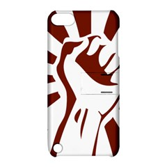 Fist Power Apple Ipod Touch 5 Hardshell Case With Stand