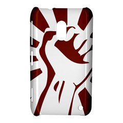 Fist Power Nokia Lumia 620 Hardshell Case