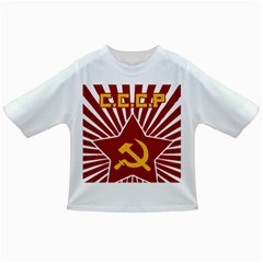 hammer and sickle cccp Infant/Toddler T-Shirt