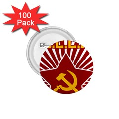 hammer and sickle cccp 1.75  Button (100 pack)