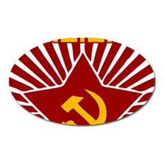Hammer And Sickle Cccp Magnet (oval)