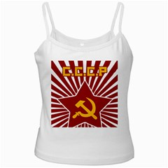 hammer and sickle cccp Ladies Camisole