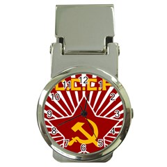 Hammer And Sickle Cccp Money Clip Watch