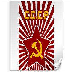 Hammer And Sickle Cccp Canvas 36  X 48