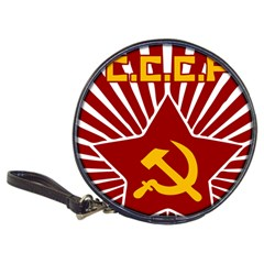 hammer and sickle cccp Classic 20-CD Wallet