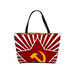 hammer and sickle cccp Classic Shoulder Handbag