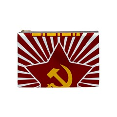 hammer and sickle cccp Cosmetic Bag (Medium)