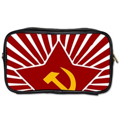 Hammer And Sickle Cccp Toiletries Bag (two Sides)