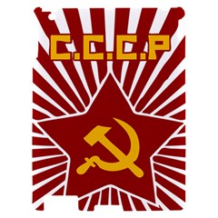 hammer and sickle cccp Apple iPad 2 Hardshell Case