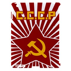 hammer and sickle cccp Apple iPad 3/4 Hardshell Case (Compatible with Smart Cover)