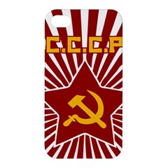 hammer and sickle cccp Apple iPhone 4/4S Premium Hardshell Case