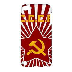hammer and sickle cccp Apple iPod Touch 5 Hardshell Case