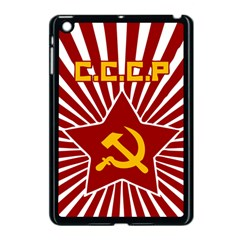 hammer and sickle cccp Apple iPad Mini Case (Black)