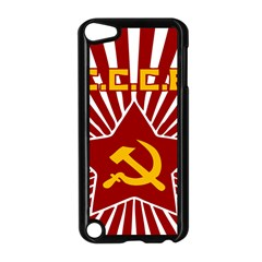Hammer And Sickle Cccp Apple Ipod Touch 5 Case (black)