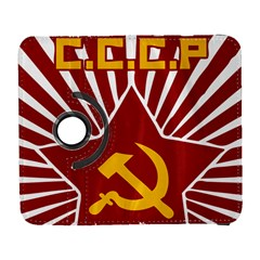 hammer and sickle cccp Samsung Galaxy S  III Flip 360 Case
