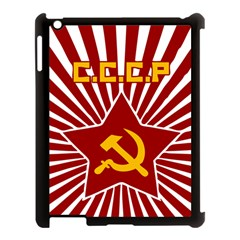 hammer and sickle cccp Apple iPad 3/4 Case (Black)