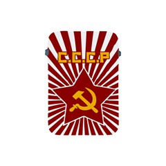 hammer and sickle cccp Apple iPad Mini Protective Soft Case