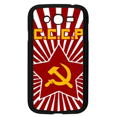 Hammer And Sickle Cccp Samsung Galaxy Grand Duos I9082 Case (black)