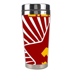 Hammer And Sickle Cccp Stainless Steel Travel Tumbler