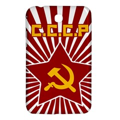 hammer and sickle cccp Samsung Galaxy Tab 3 (7 ) P3200 Hardshell Case