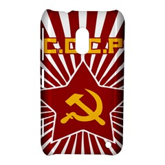 Hammer And Sickle Cccp Nokia Lumia 620 Hardshell Case